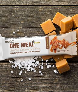 Nupo bar-One Meal +Prime Bar – Salted Caramel Fling