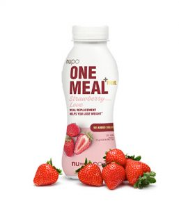 One meal shake til vægttab - One Meal +Prime Shake – Strawberry Love