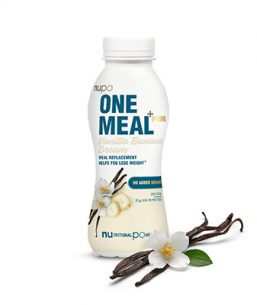 One Meal +Prime Shake – Vanilla Banana Dream